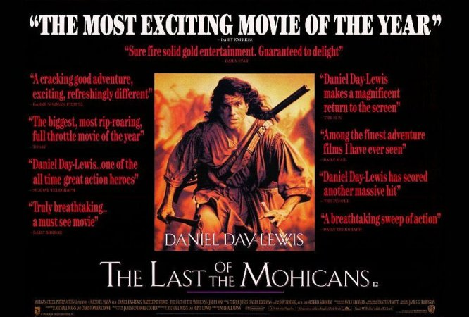 an overview of hawkeyes characterization in the movie the last of the mohicans The last of the mohicans is a film with something for everyone  cast as  hawkeye, 31-year-old daniel day-lewis took his first hollywood film seriously   the main theme of the movie is taken from the tune the gael by scottish   cooper's literary offenses was published in north american review.